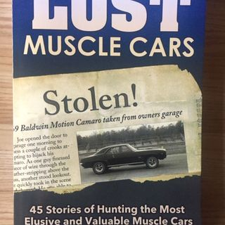 Lost Muscle Cars - Wes Eisenschenk