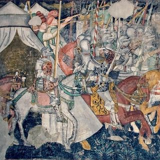 La battaglia di cavalieri
