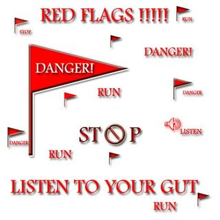 Dating: Red flags