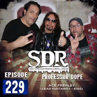 Ace Frehley (Lead Guitarist - KISS) - Professor Dope