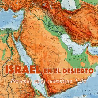 Israel en el desierto (Reflexiones en la cuarentena N.26)