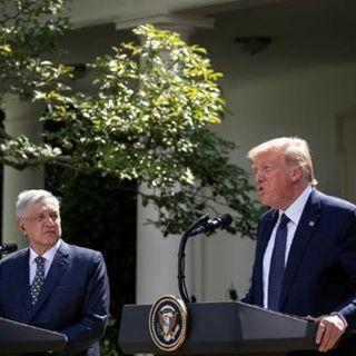 Somos amigos, aliados y socios, afirma Trump tras reunión con López Obrador