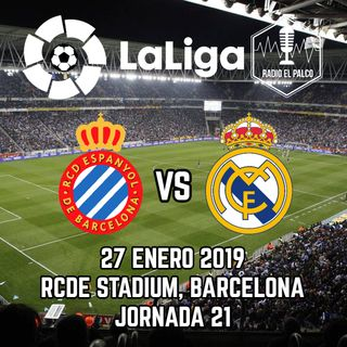 RCD Espanyol vs Real Madrid en VIVO