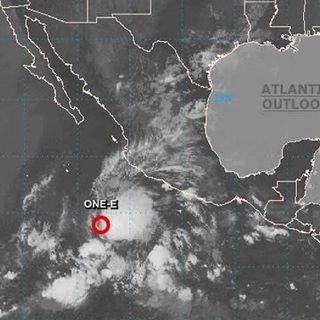 Se formó el primer Ciclón Tropical de la temporada en el Pacífico