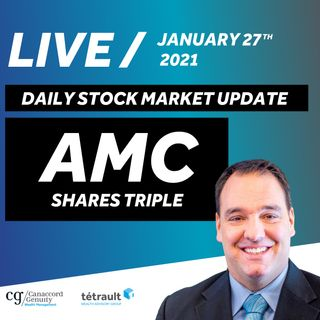 Daily Stock Market Update - AMC Shares Triple