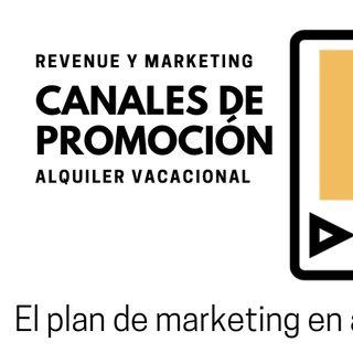 Los canales de promoción de marketing en alquiler vacacional