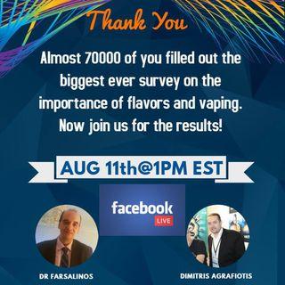 Dr Farsalinos U.S. Flavor Study Results