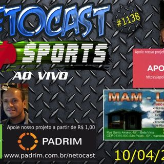 NETOCAST 1138 DE 10/04/2019 - ESPORTES - NFL - NBA - UFC - AFC
