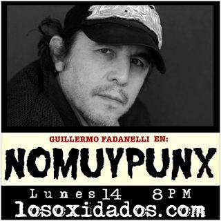NoMuyPunx con Guillermo Fadanelli