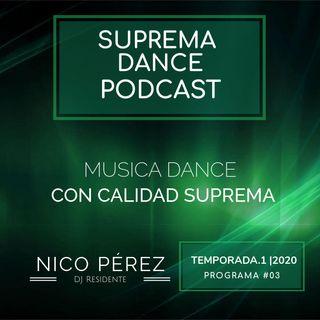 DJ Residente Nico Pérez | Programa-3 | T.1 | SDP