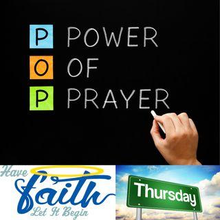 Power of Prayer Thursday