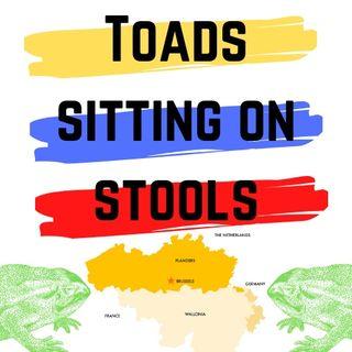 E1: Toads sitting on stools (Flemish)