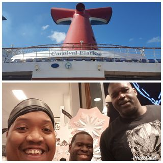 Orlando, Dominican Republic and Turks And Caicos At Carnival Elation Cruise ship Episode Part 1