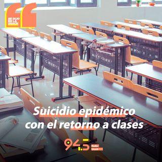 Tirar a los niños al colegio es realmente como un suicidio epidémico