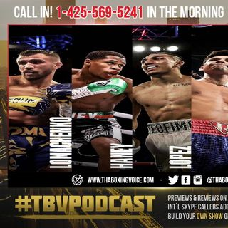 ☎️Who Will Tank Gervonta Davis Chose❓Teofimo Lopez👀Loma🙄Hany😱Or Garcia vs Campbell Winner😳