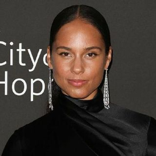 Alicia Keys Takes Her 4 year old Son To The Salon