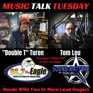 (Music Talk Tuesday): Bands With Two Or More Lead Singers