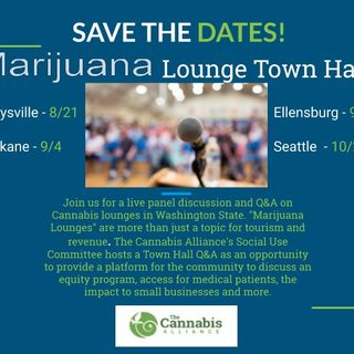 Marijuana Lounge Town Hall (WA State, 2019)