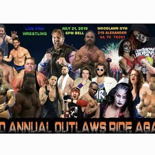 ENTHUSIASTIC REVIEWS #229: Branded Outlaw Wrestling Outlaws Ride Again July 2019 Watch-Along