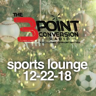 The 3 Point Conversion Sports Lounge- Giving Christmas Gifts, NFL Playoff Picture, Zion Must Have(?), LeBron Tampering