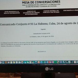 Acuerdo General Para La Terminación Del Conflicto En Colombis