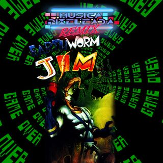 Earthworm Jim (Sega Genesis - Mega Drive)