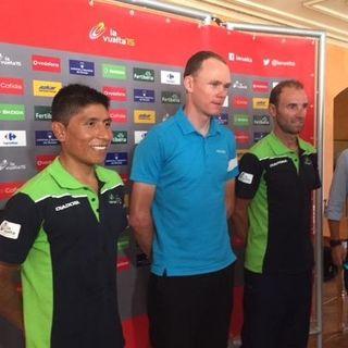 Nairo Quintana Previo al comienzo Vuelta España