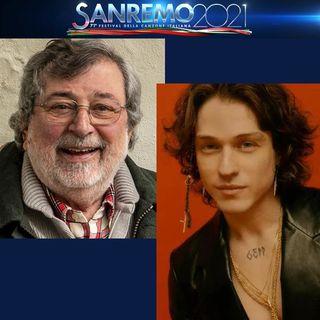 """A Sanremo 2021, nella serata dei duetti e delle cover, Irama canta """"Cirano"""" di Francesco Guccini. Una canzone del 1996."""