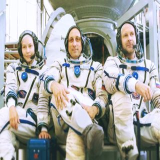 Film Crew Returns To Earth After Shooting First Movie In Space.