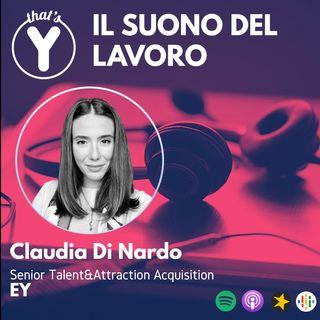 """""""Il Suono del Lavoro"""" con Claudia Di Nardo EY"""