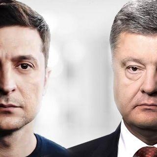 Poroshenko e Zelensky, il difficile dibattito