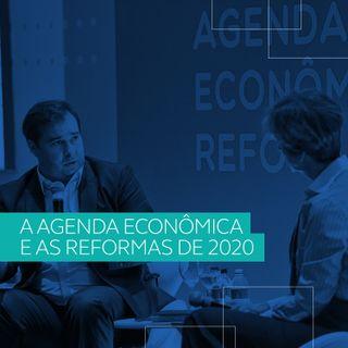 Guedes e Maia discutem agenda econômica e as reformas de 2020