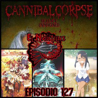 Nautilus 127: Violence Unimagined, Adelantos Satánico/Futuristas & Anime Primavera 2021