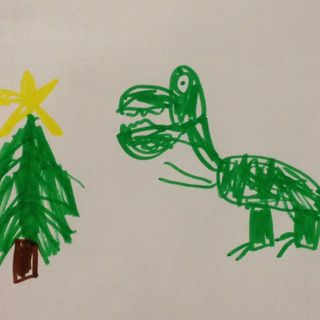 Howard The Christmas Dinosaur
