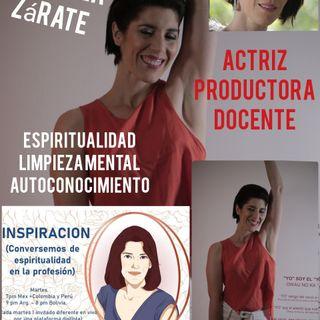 Entrevista con Gabriela Zárate. Productora, Actriz, Docente y más.