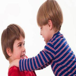 Pleito entre niños