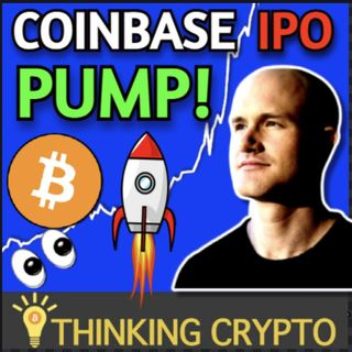 Crypto Market Pump Coming With Coinbase IPO on April 14th & Morgan Stanley Mutual Funds Bitcoin