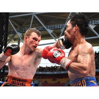 Pacquiao vs. Horn! Set Up? Ball family TV deal! Rondo will be a Knick!!