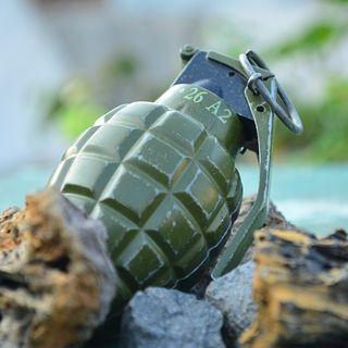 Grenade in trunk