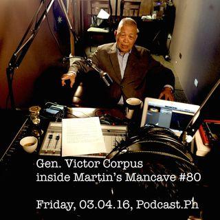 Victor Corpus in Martin's Mancave #80 Part 3