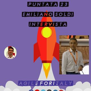 23. Anteprima Meetup - Intervista ad Emiliano Soldi