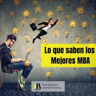 #022 - Lo que saben los mejores MBA