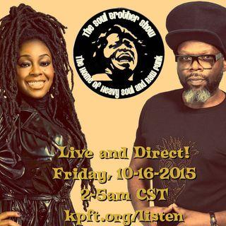 Spinning UK Soul on KPFT 90.1 FM