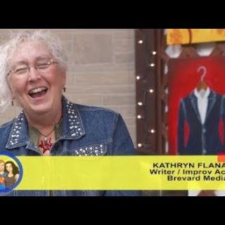 What's Beyond The Fine Line?...Dust Bunnies! Author Kathryn Flanagan on the Hangin With Web Show