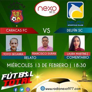 Caracas FC Vs Delfín SC