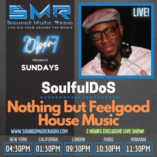 Soundz Muzic Radio  - Nothing But Feel Good House Music  **LIVE REPLAY ** March 28, 2021