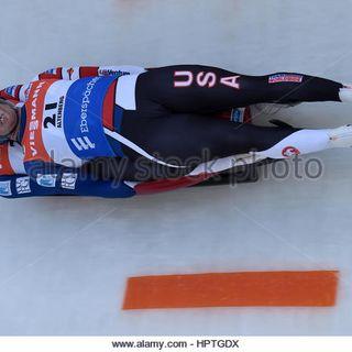 Olympic Show:American Luger's Matt Mortensen and Jayson Terdiman