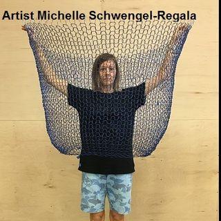 Scientific Illustrator & Fiber Artist Michelle Schwengel-Regala