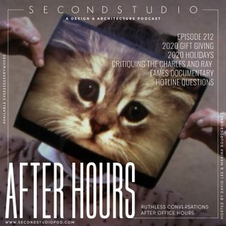 #212 - After Hours: 2020 Gift Shopping, The Charles and Ray Eames Documentary, and Listener Questions
