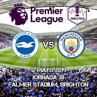 Brighton and Hove Albion vs Manchester City en VIVO